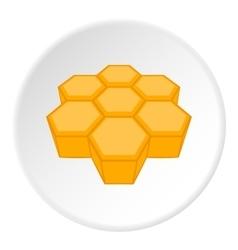 Honeycomb icon cartoon style vector image