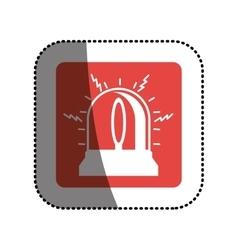 Isolated alarm design vector