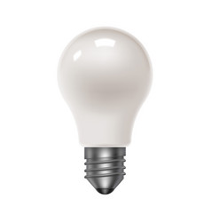 isolated lamp bulb energy saving light bulbs vector image