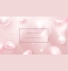 Light pink abstract liquid background for vector