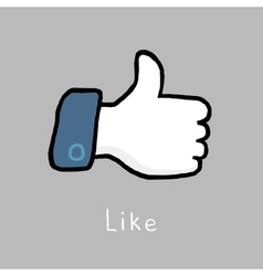 Like vector image