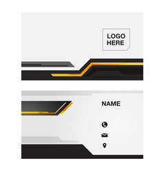 name card abstract background image vector image