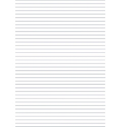 Notebook background Paper in line vector