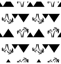pyramids seamless on white vector image