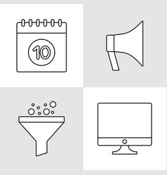 Seo icons design vector