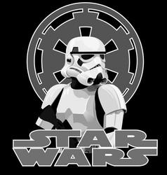 trooper vector image