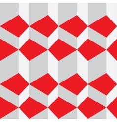 white triangular background vector image
