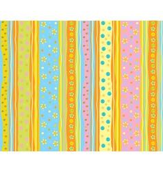 cute pattern vector image