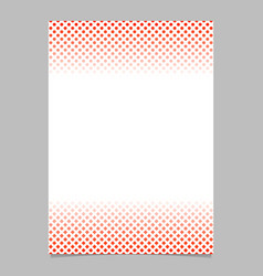 halftone geometrical circle and square pattern vector image
