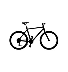 Hybrid bike vector