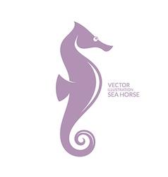 Sea horse vector