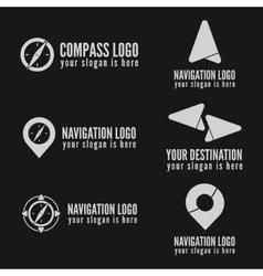 Set of logo badge label emblem or logotype vector