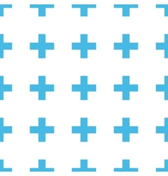 Unique Cross seamless pattern vector image