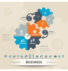 Business Concept Graphic Element vector image vector image