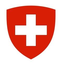 coat of arms of Switzerland vector image