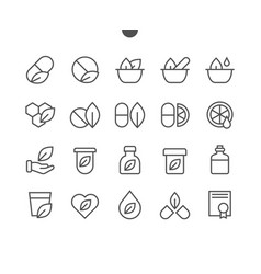 alternative medicine ui pixel perfect well-crafted vector image