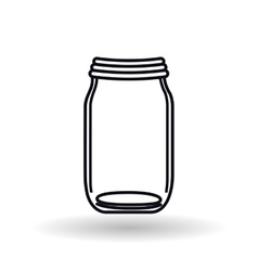 Jar icon design vector