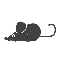 mouse rat icon vector image