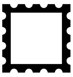 postage postal stamp graphic element isolated on vector image