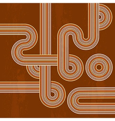 retro abstract background vector image