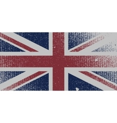 Distressed UK Flag vector image