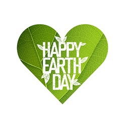 Earth Day Concept Design Happy Earth Day logotype vector image vector image