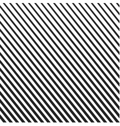 background with diagonal black and white lines vector image