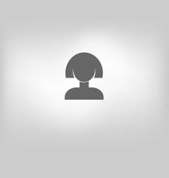 icon women vector image