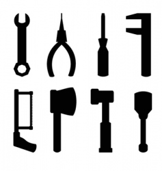 simple tools vector image