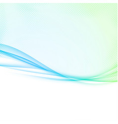 bright green to blue colorful abstract vector image