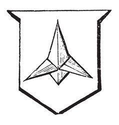 Caltrop is an iron instrument made to annoy an vector