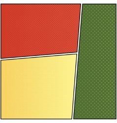 Cartoon comic 6 vector image