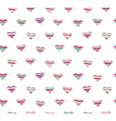 hearts seamless vector image