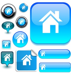 Home signs vector image