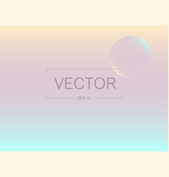 screen gradient with modern abstract backgrounds vector image