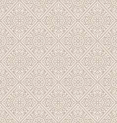 Traditional floral wallpaper vector