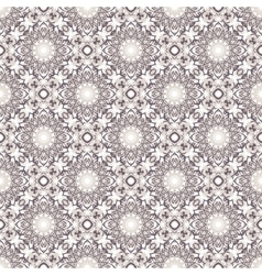 Big abstract flowers pattern vector