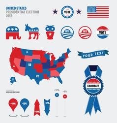 election graphics vector image vector image
