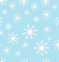 Snoflake pattern vector image
