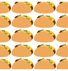 Burrito mexican food icon vector