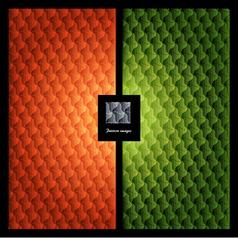 Pattern wallpaper element vector image vector image