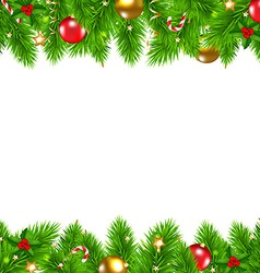 Retro Christmas Wall vector image vector image