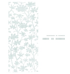 abstract gray bush leaves textile vertical frame vector image