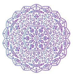 Abstract ornament mandala vector