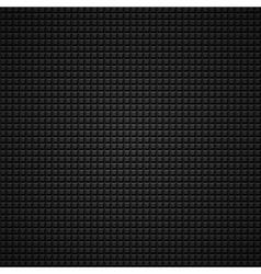 black 3d pattern vector image