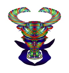 Horoscope Taurus vector image