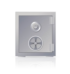Metal safe vector image