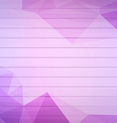The abstract geometric 3D background vector image