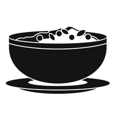 Vietnam food icon simple style vector