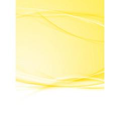 Bright modern orange swoosh folder background vector